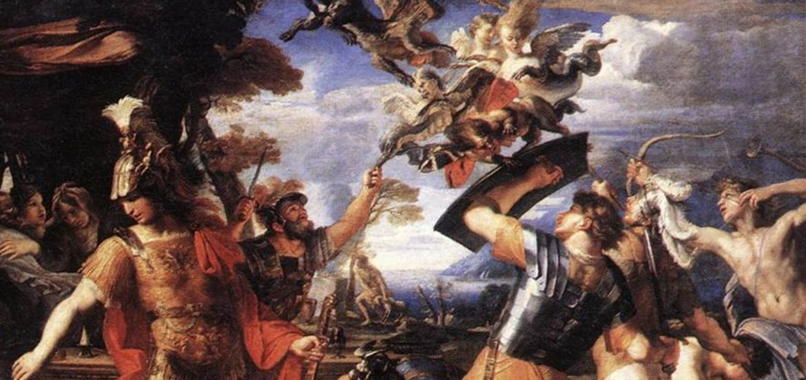 Cover Photo: Detail of Aeneas and his Companions Fighting the Harpies, by François Perrier / Image via Wikimedia