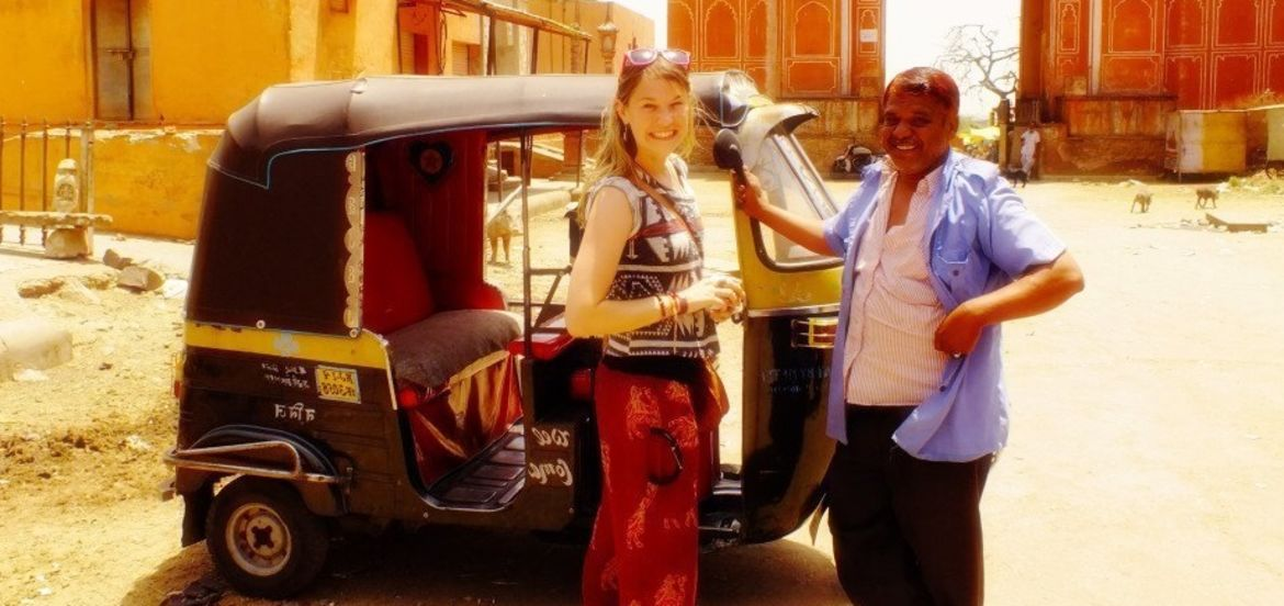 Cover Photo: A Firangi's experience traveling to India  by Sarah Young