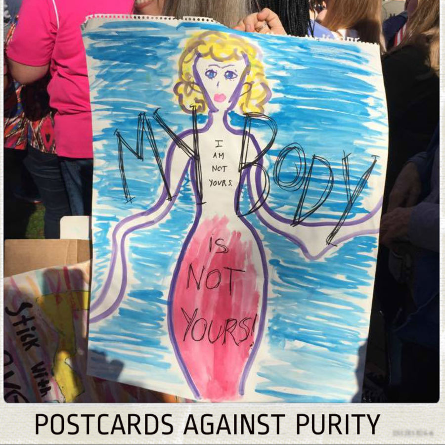 Cover Photo: Postcards Against Purity by Alina Stefanescu