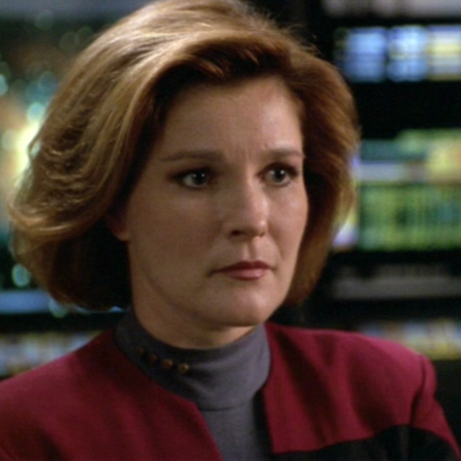 Cover Photo: Kate Mulgrew as Captain Kathryn Janeway