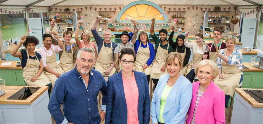 "Cover Photo: Still from the television series ""The Great British Baking Show"""