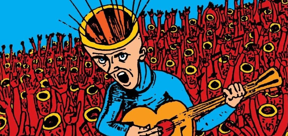 "Cover Photo: Cover art from the 2015 documentary ""The Devil and Daniel Johnston"""