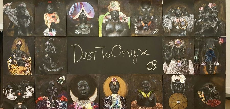 Cover Photo: Dust II Onyx Tarot / Images courtesy of artist Courtney Alexander