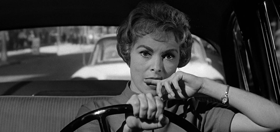 Cover Photo: Janet Leigh in 'Psycho' (1960)