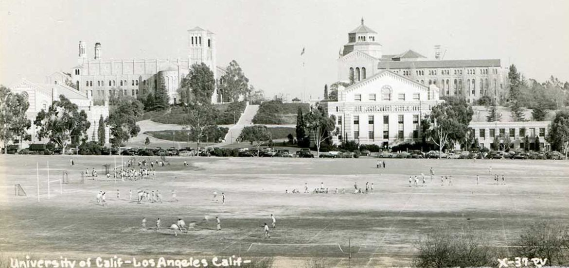 Cover Photo: early UCLA