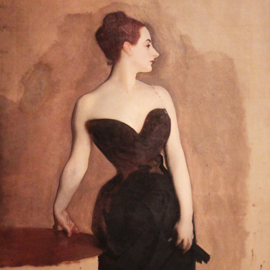 Cover Photo: Study of Mme Gautreau, John Singer Sargent, circa 1884