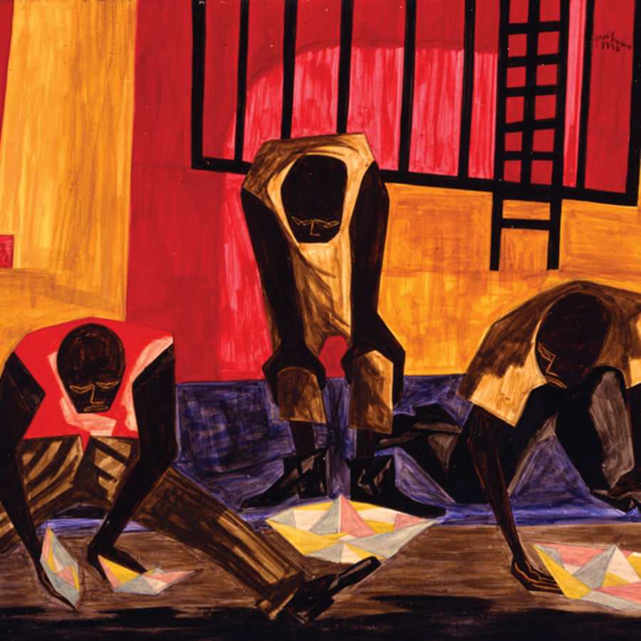 "Cover Photo: ""Paper Boats"" by Jacob Lawrence, 1949"