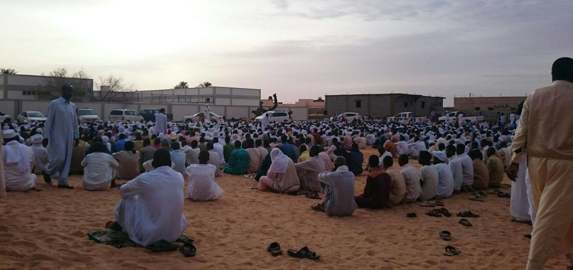 Cover Photo: Eid al Adha prayer in Qatrun, Libya, 2015 / photo courtesy of Abdulhadi Soliman