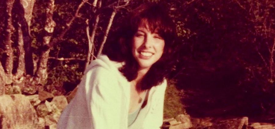 Cover Photo: photo of the author's mother in 1981