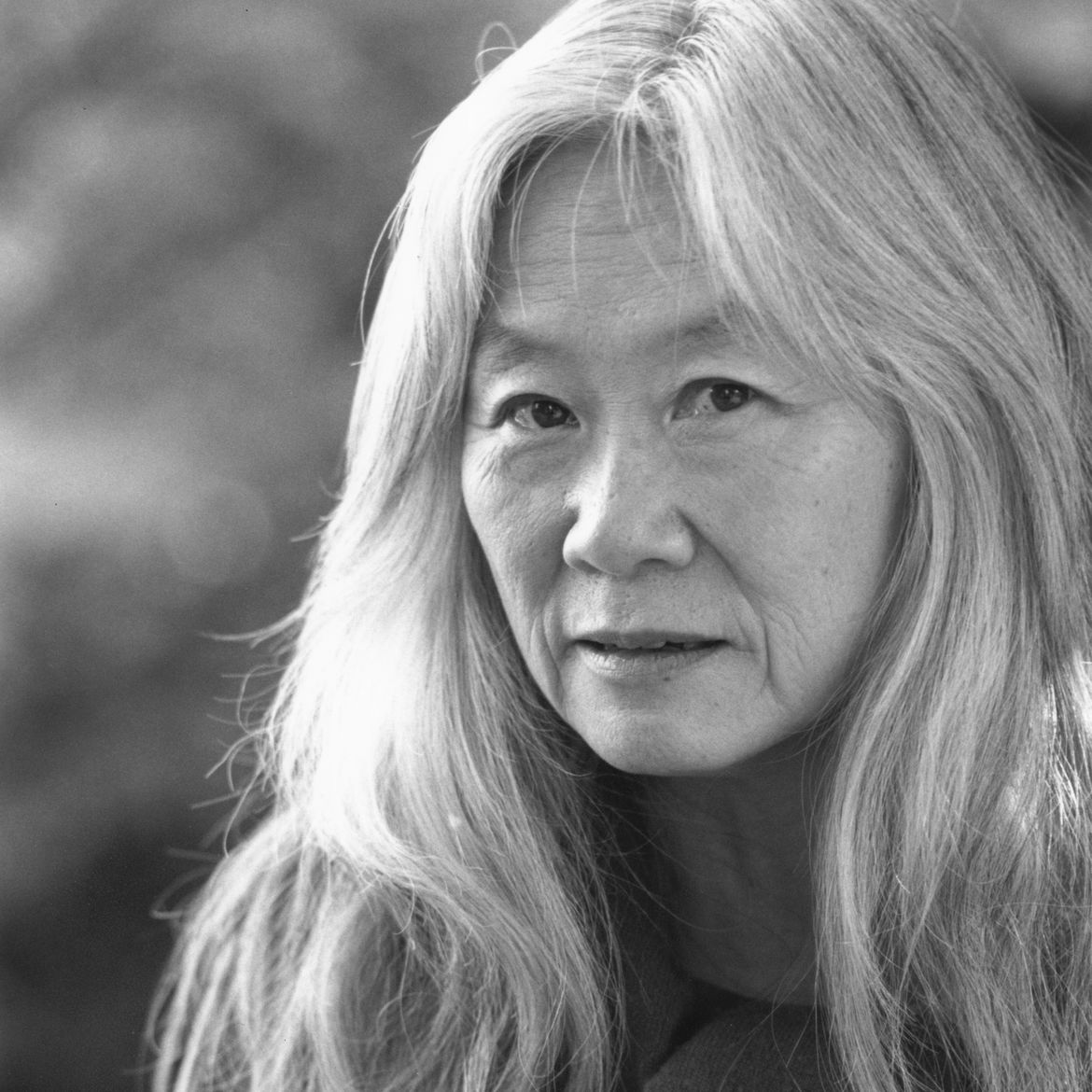 Cover Photo: Maxine Hong Kingston / photo: Paul Mandebaum