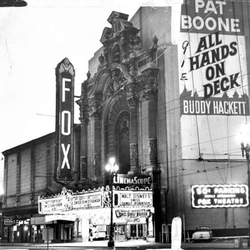 Cover Photo: Fox Theater, San Francisco. All photos provided by the author.