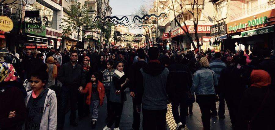 Cover Photo: Bağcılar's main pedestrian walkway. Photos provided by the author.