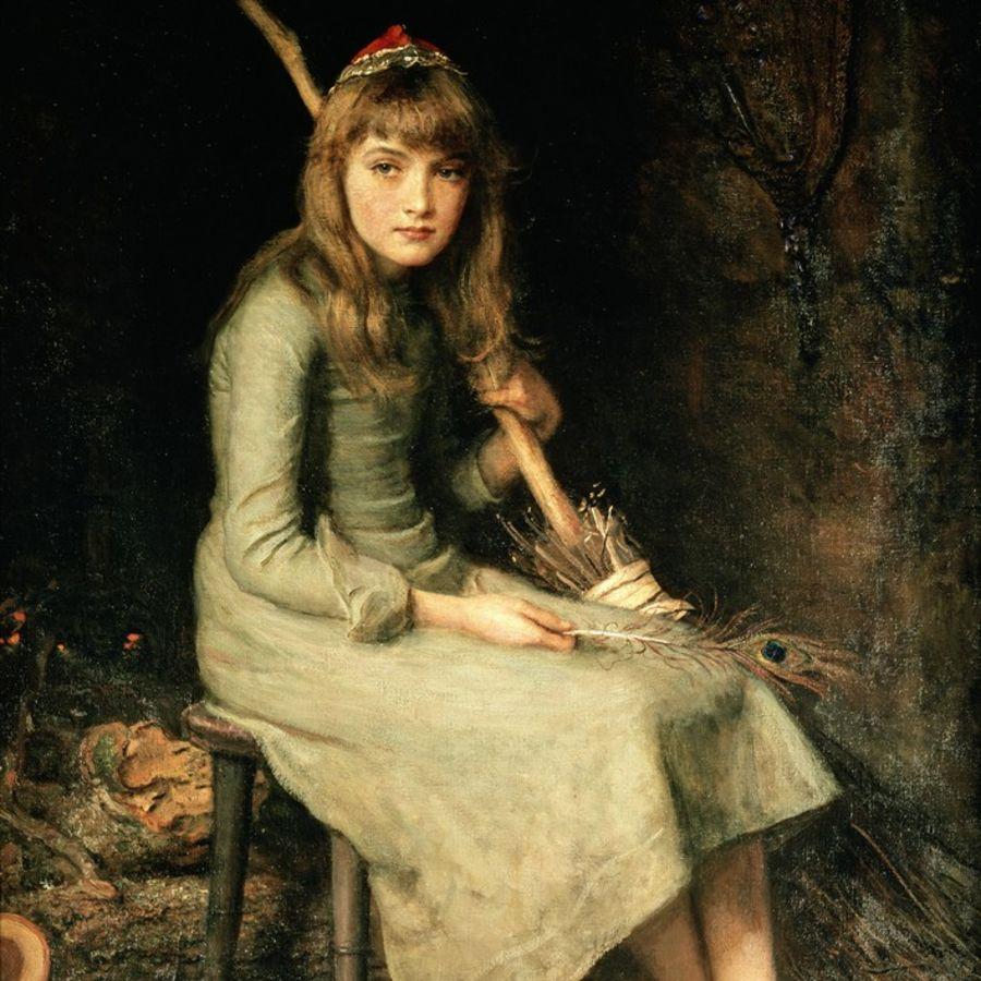 Cover Photo: 'Cinderella,' by John Everett Millais, 1881
