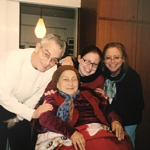 Cover Photo: The author, her father, grandmother, and mother.