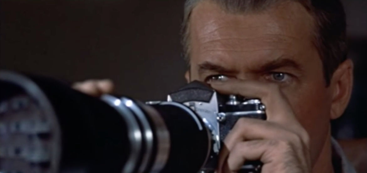 "Cover Photo: Screencap from the film ""Rear Window"""