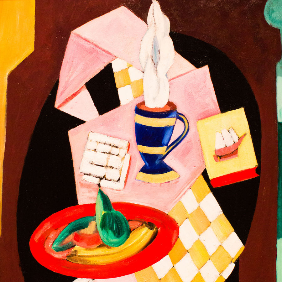 Cover Photo: Marsden Hartley, The Bright Breakfast of Minnie , Denver Art Museum