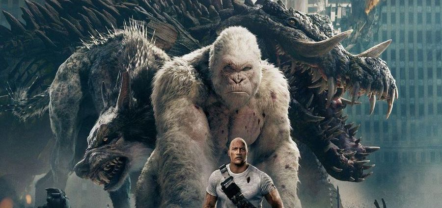 Cover Photo: Rampage (2018)