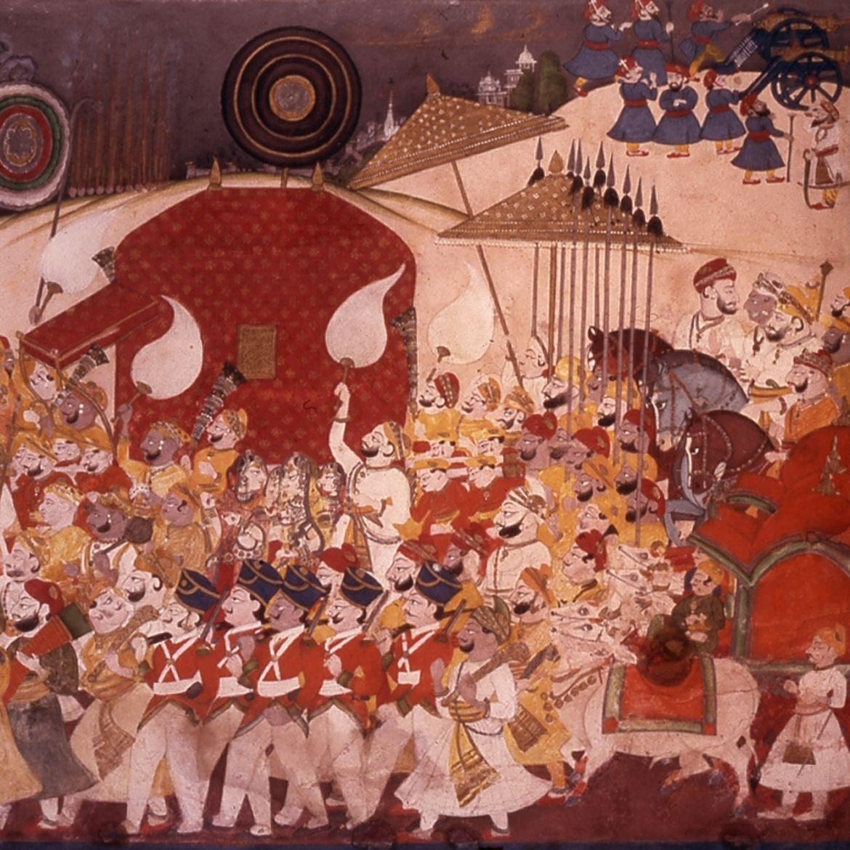 Cover Photo: 'A Wedding Procession' (detail), c. 1825-1850 / image via wikimedia