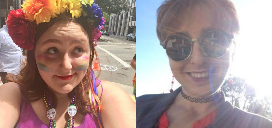 Cover Photo: Left: Hope Levy, Right: Nicole Calande