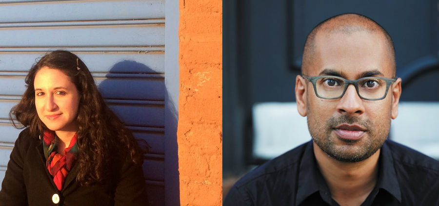 Cover Photo: Left: Amy Feltman, right: Rumaan Alam, photo credit: David A. Land