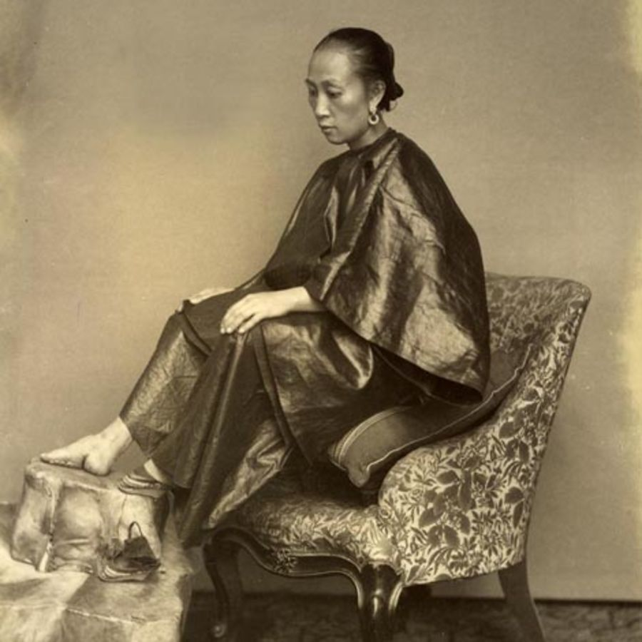 Cover Photo: A Chinese Golden Lily Foot, Lai Afong, circa 1870s, via Wikipedia