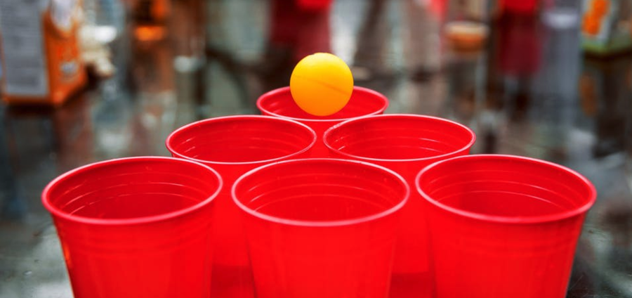 Cover Photo: College and beer pong by Emma Britton